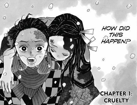 Demon Slayer (Kimetsu no yaiba) page 1