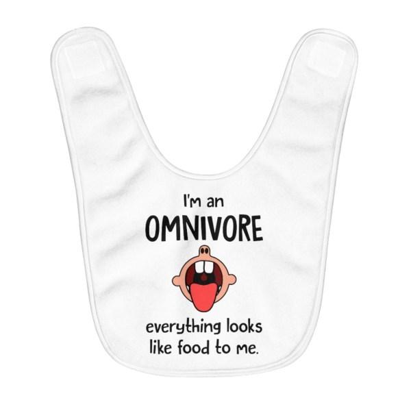I'm an Omnivore Bib