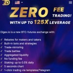 Digex - Zero free digital crypto derivative exchange (50,000 DIGEX for free ~ $35)
