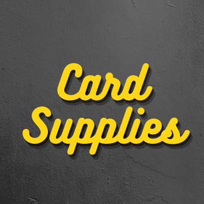 Card Supplies