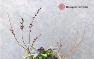 枝物のフラワーアレンジメント