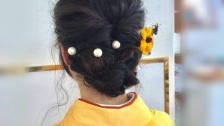 袴用のヘアアレンジ!