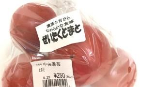 トマトはお肌と健康に良いらしい!(^^)