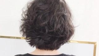 パーマの様な癖毛のSさん(^^)