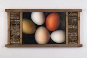Five Eggs and Hickory Sticks