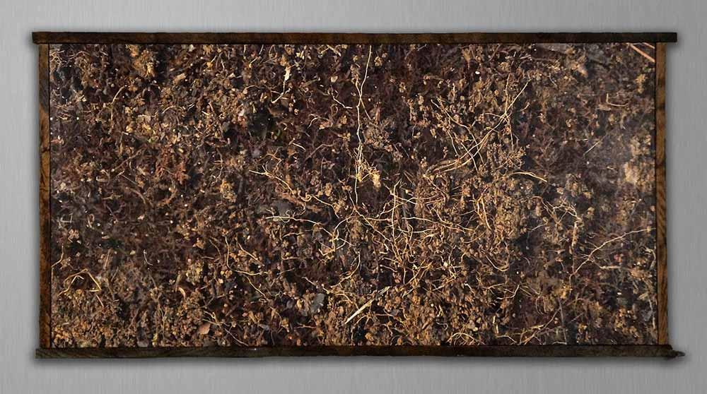 Dirt after Pollock