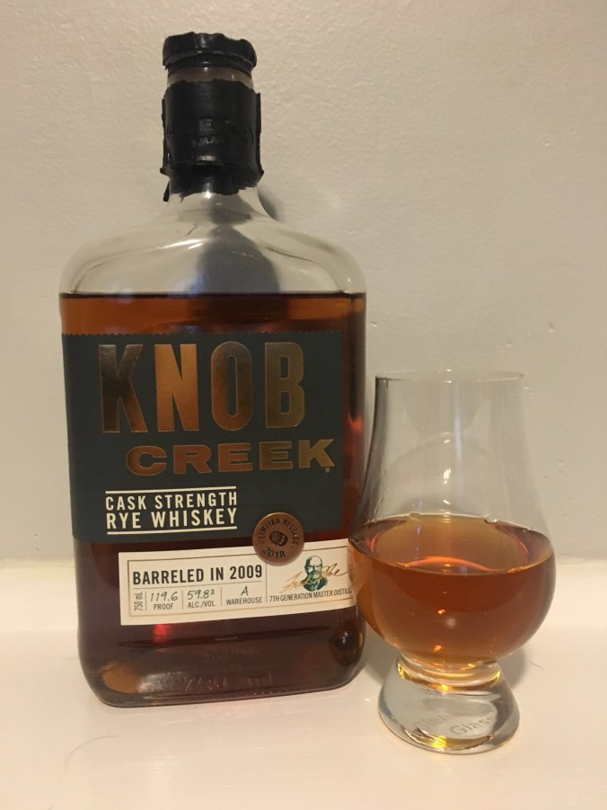 Knob Creek Cask Strength