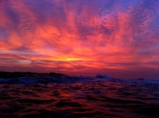 Beautiful sunrise over Seal Island