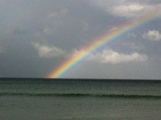 Rainbow at Fish Hoek
