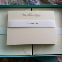 Social Stationery by Crane's for Tiffany & Co.