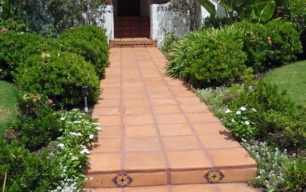 saltillo square tile rounded edges