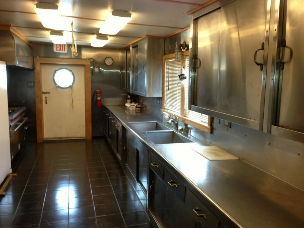 commercial kitchen equipment for sale contemporary art 34 man quarters barge | bourg marine, inc.