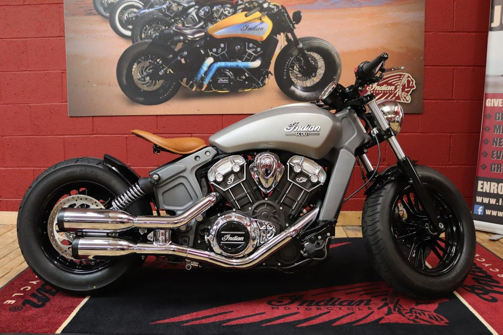 custom indian scout build