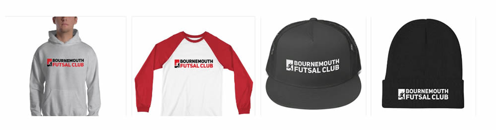 Bournemouth Futsal Merchandise