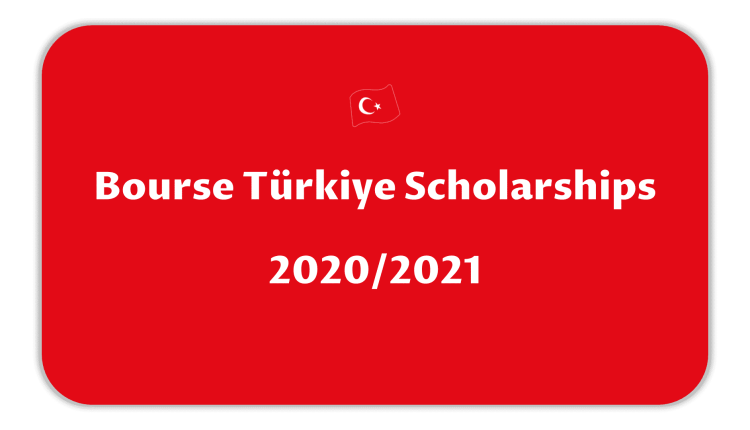 Bourse Türkiye Scholarships 2020