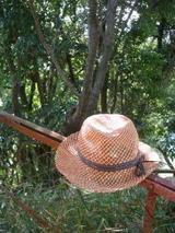 サーモンピンク夏帽体