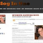 Bout de chou sur Blog in One