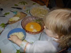 Bébé 20 mois cuisine