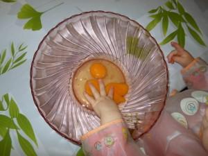 Bébé 22 mois cuisine