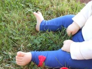 Petit bonheur : brins d'herbe