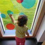 Pédagogie Montessori : cercles de couleurs