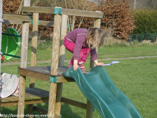 Activité extérieure enfant 3 ans