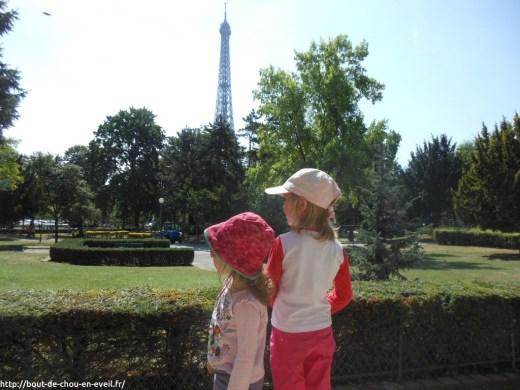 Sortie à Paris Tour Eiffel