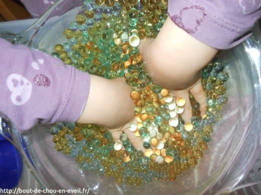 Activité perles d'eau