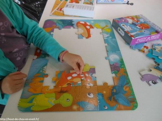 Puzzle pour bout de chou de 4 ans