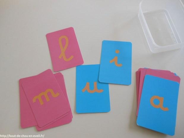 Ecriture inspiration Montessori
