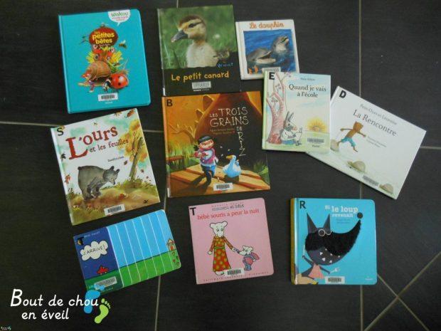 Selection de livres pour les petits
