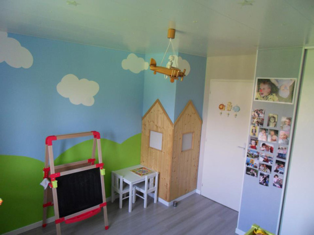 Beautiful Idee Deco Chambre Fille 2 Ans Ideas - House Design ...