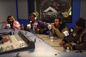 Flatbush Zombies – Funk Flex Freestyle (Video)