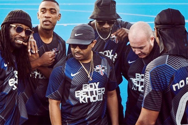 Boy Better Know - Athlete (feat. Goldie1) (Official Video)