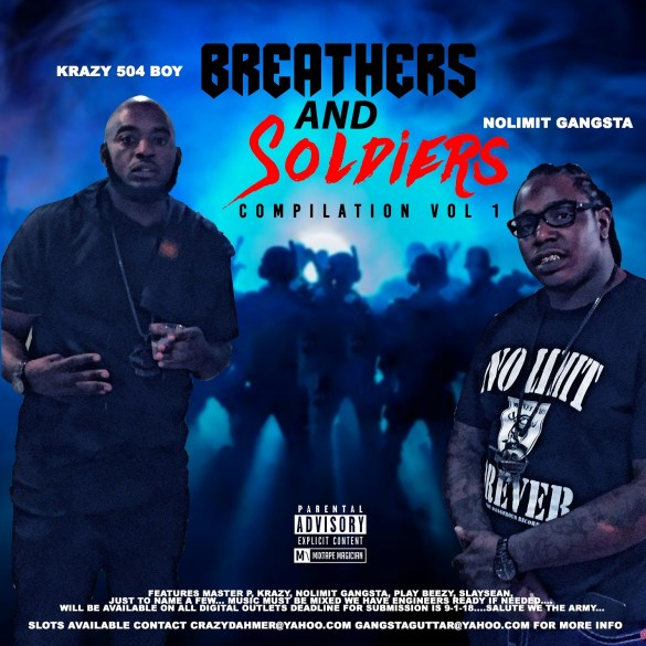 krazy 504 boy no limit gangsta breathers and soldiers
