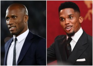 Soccer Legends Drogba and Eto'o blast suggestion of Covid-19 African experiments!
