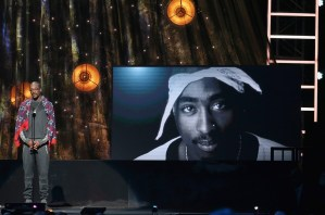 Snoop Dogg inducts the late Tupac Shakur into the Rock & Roll Hall