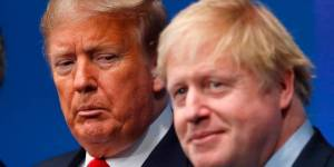 President Trump sends best wishes to Boris Johnson after move to intensive care