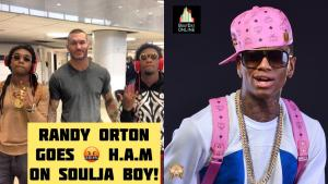 SHOTS FIRED! Randy Orton Goes Off On Soulja Boy! For Calling WWE Fake!!