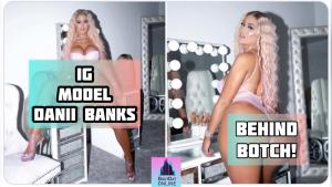Danii Banks Left With 'Botched Behind' After Spending More Than $10k On Buttock Injections!