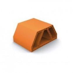bouyer leroux structure casier a bouteille en terre cuite cabernet ref 2805