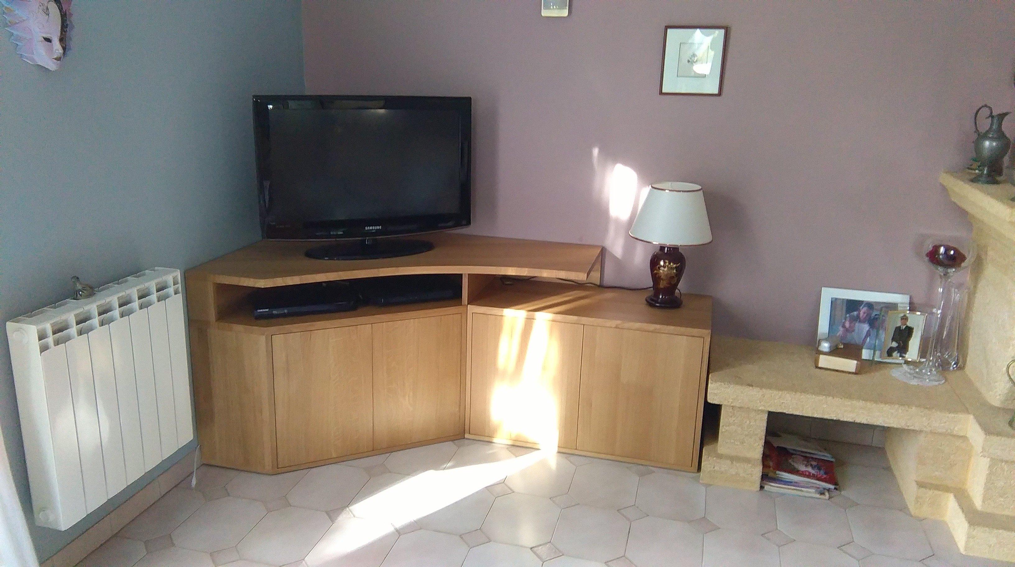 fabriquer meuble tv angle fabriquer meuble tv suspendu. Black Bedroom Furniture Sets. Home Design Ideas