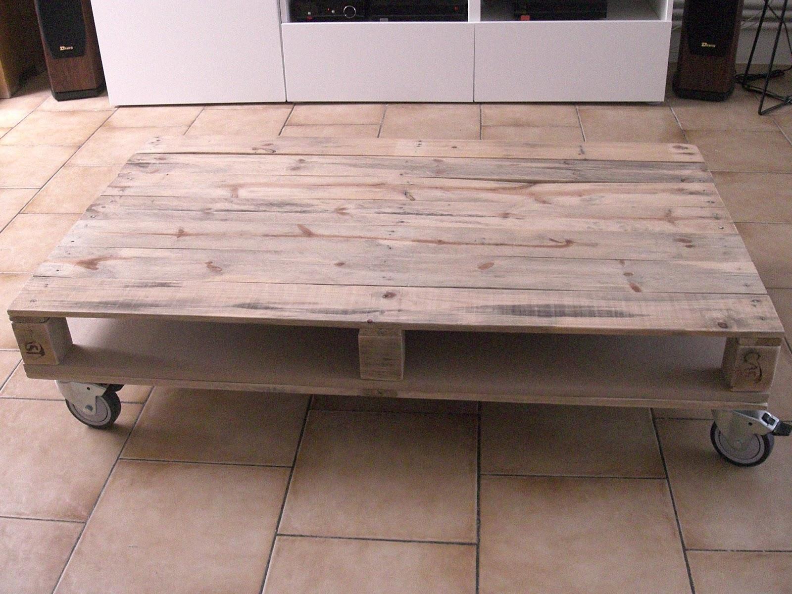 Fabriquer Sa Table Basse De Jardin | Fabrication Table Bois Tutoriel ...