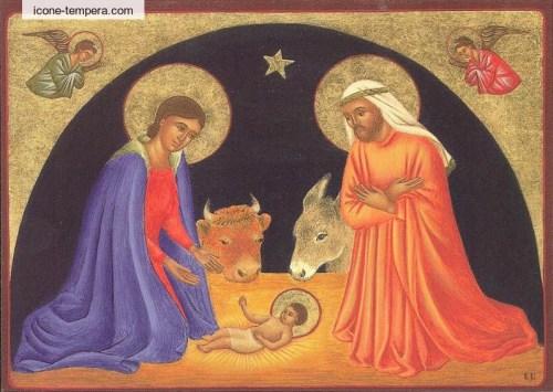 carte postale La Nativité
