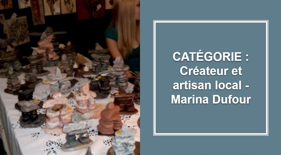 CRÉATEUR & ARTISAN : Marina Dufour