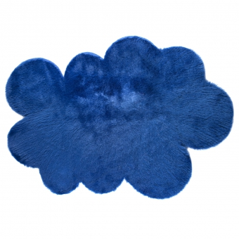 tapis nuage bleu ocean pilepoil