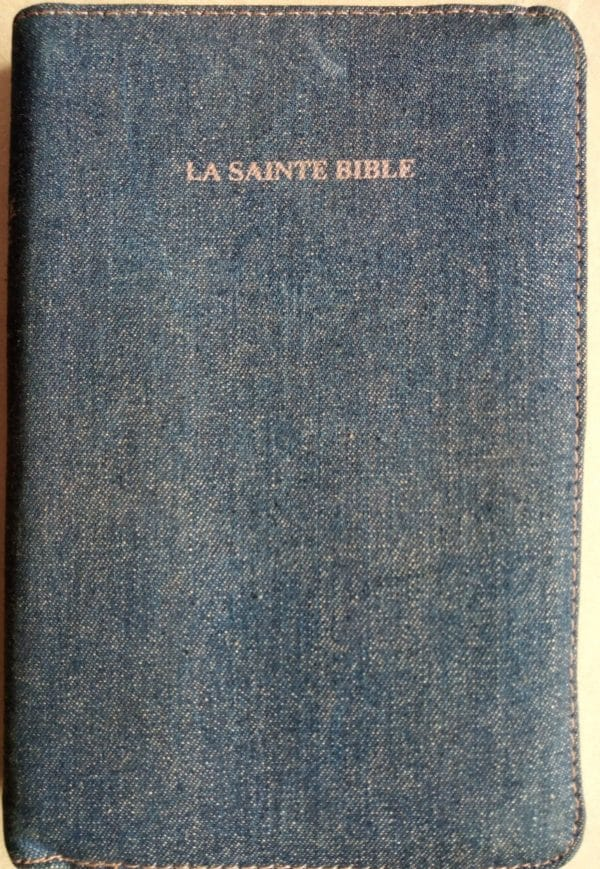 Bible Louis Segond (Onglet Doré de poche Gin)