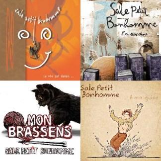 Pack Sale Petit Bonhomme : 4 albums !