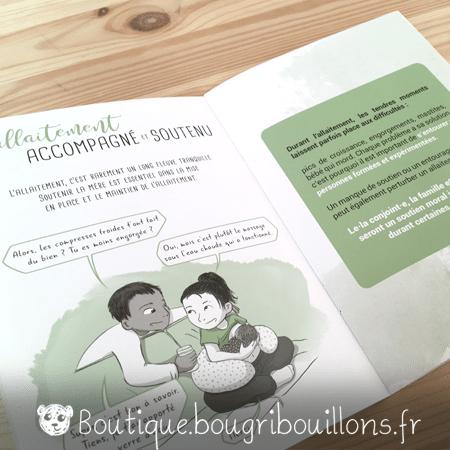 Livrets Bougribouillons - La petite enfance en images - Extrait Allaitement