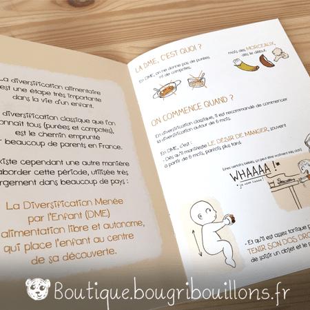 Livrets Bougribouillons - La petite enfance en images - Extrait DME